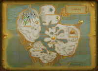 Coldberg treasure map