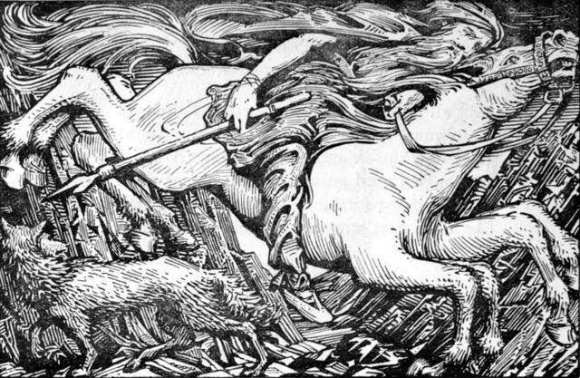 File:Odin and Sleipnir ride to Hel.jpg