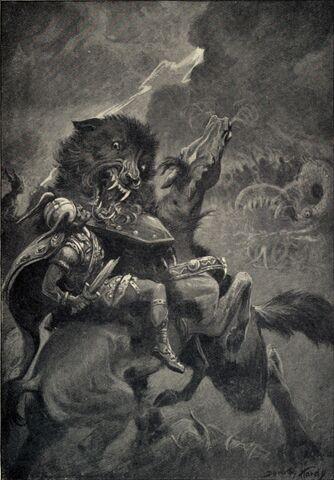 File:Odin and Fenrir.jpg