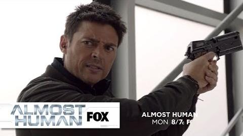"Promo for ""Are You Receiving?"" ALMOST HUMAN FOX BROADCASTING"