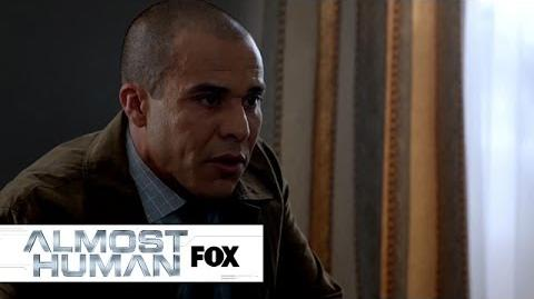 """Witness Protection from """"Blood Brothers"""" ALMOST HUMAN FOX BROADCASTING"""