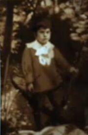 Photo Archibald Morton as a child