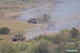 Hungarian Tanks ion Transylvania