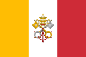 Flag of the Papal Kingdom of Italy