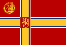 Communist Finnish Flag