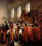 220px-Bouchot - Le general Bonaparte au Conseil des Cinq-Cents