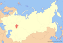 Location of Bashkortostan (New Union)