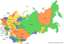 Map of the Soviet Union (New Union)