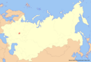 Location of Chuvashia (New Union)