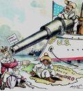 Roosevelt monroe Doctrine cartoon