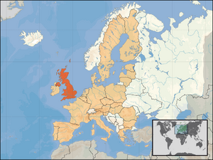 Location of the UK OTL