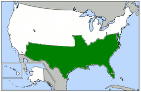 Commonwealth of Confederacy map