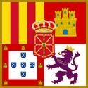 Royal Banner of Iberia 1466.png