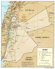 1983DD Jordan Map Nuclear Strikes