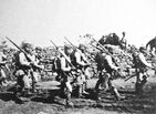 Japanese soldiers near Chemulpo Korea August September 1904 Russo Japanese War