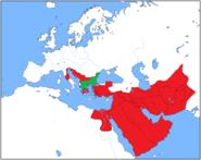 Alexander's Empire 311 BC Macedonia