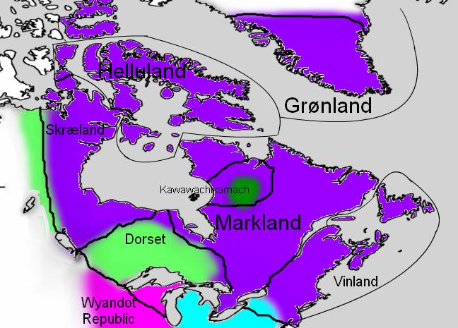 Lenguages in Vinland (1191) (Leifsbudir)