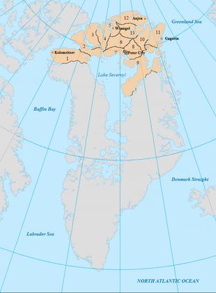 Map of Romanova Subjects