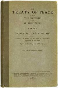 Treaty of Versailles, English (No Napoleon)