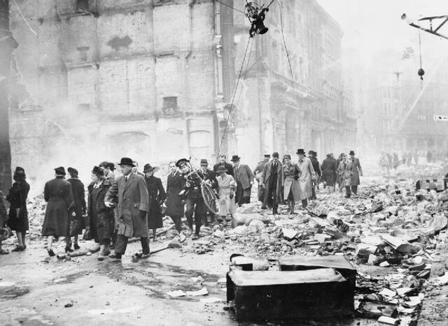 File:Bomb Damage in London during the Second World War HU36157.jpg