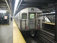 R32 C Train at 168th street