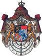 Wappen Deutsches Reich - Königreich Bayern Grosses