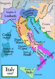Italy 1000 AD