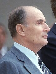 Mitterrand 1984 (cropped)
