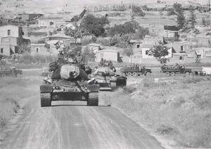 Turkish M47 Patton tanks1