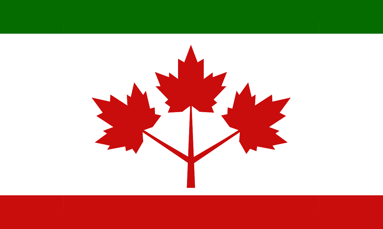 image flag of canadian republic png alternative history