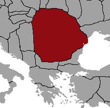 Gepid Historical Territory