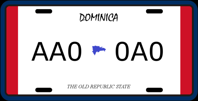File:License plate of Dominica (Alternity).png