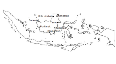 Indonesian cities