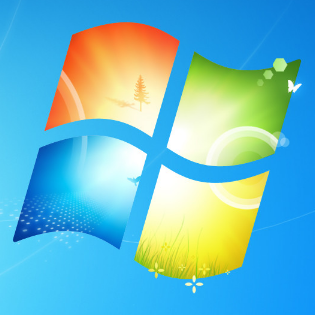File:Windows 7 logo from wallpaper.png