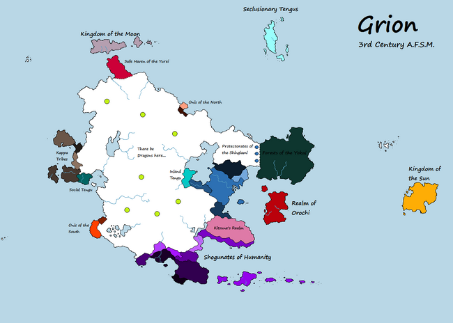 World Map of Grion