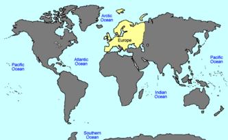 VINW World Map EUROPE