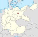 Locator map Berlin in Germany (IM)