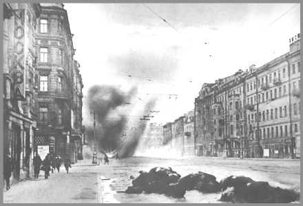 Nevsky under fire