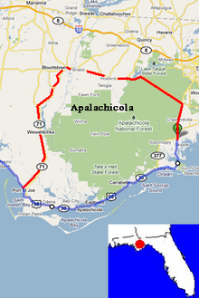 Apalachicola Map