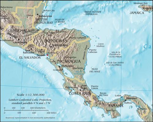 Republica Federal Centroamericana 1921