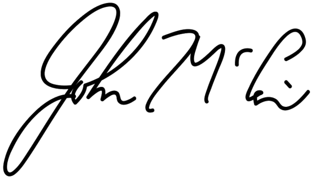 File:John McCain Signature.PNG