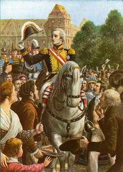 The return of Vittorio Emmanuel I to Turin