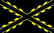 Golden new spain flag
