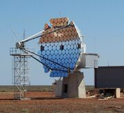 Woomera tracking satellite dish