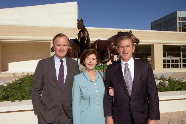 File:President McCain Bush with Laura and H. W. Bush.PNG