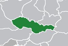 Map of Czechoslovakia (1983- Doomsday)
