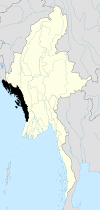 200px-Burma Rakhine locator map