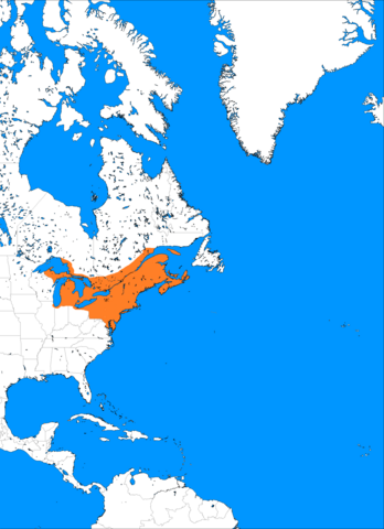File:Frjalstrond empire just before mass european colonization, population estimate at 12 Million, concentrated in Acadia, around the great lakes and along atlantic coast.png
