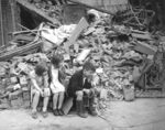 WWII London Blitz East London