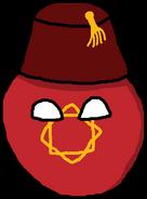 19th century Moroccoball (PMIII)